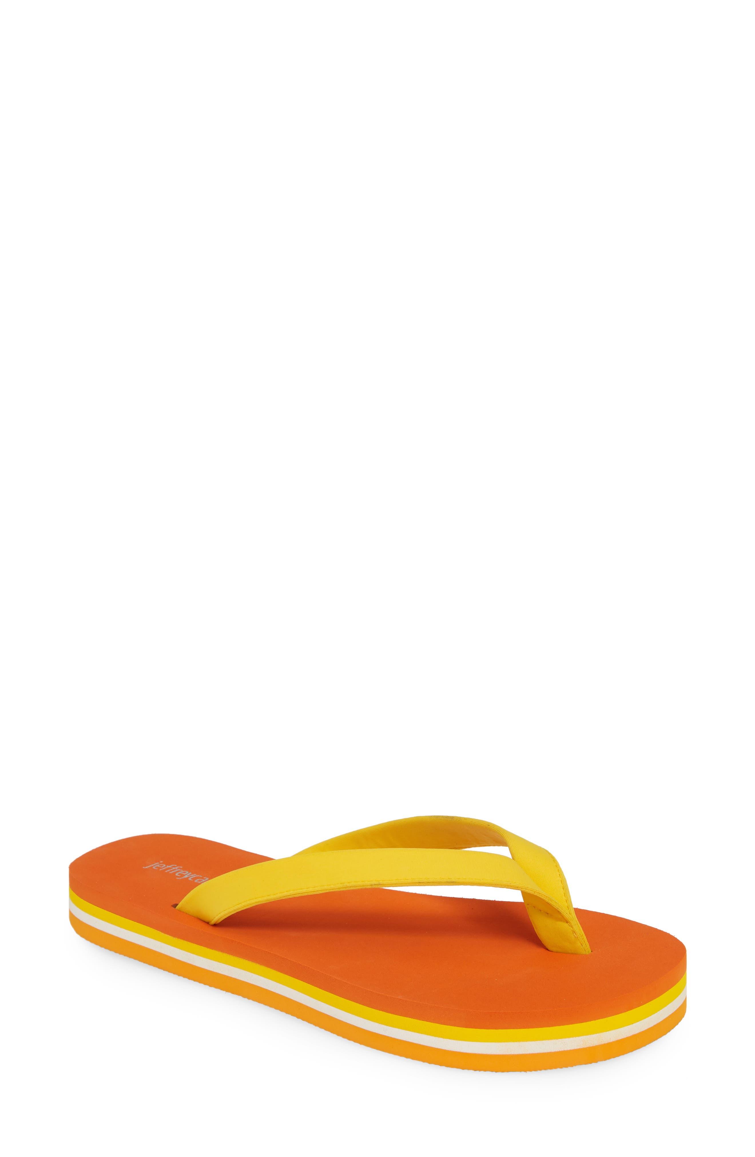 Jeffrey Campbell Surf Flip Flop, Orange