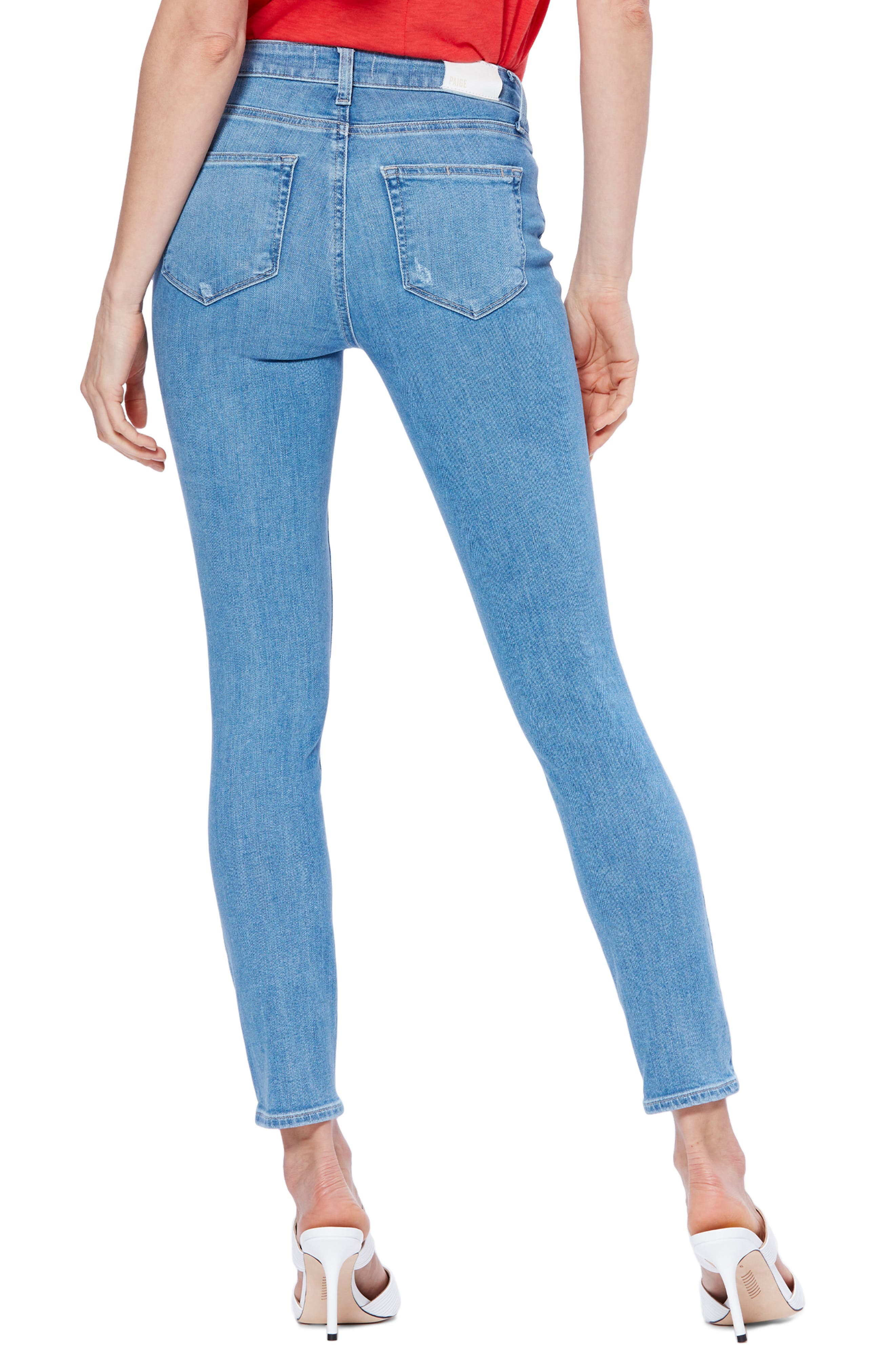 ,                             Transcend Vintage - Hoxton High Waist Ankle Skinny Jeans,                             Alternate thumbnail 2, color,                             400