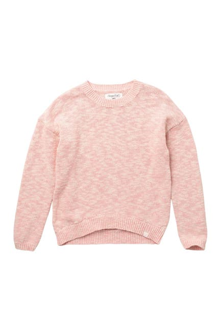Image of Sovereign Code Janice Marled High Low Pullover Sweater
