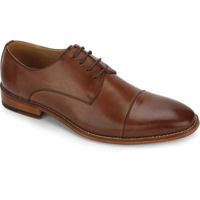 Reaction Kenneth Cole Blake Cap Toe Derby, Ivory