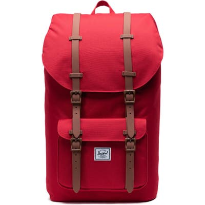 Herschel Supply Co. Little America - Mid Volume Backpack - Red
