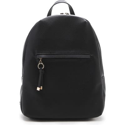Sole Society Deana Faux Leather Backpack - Black