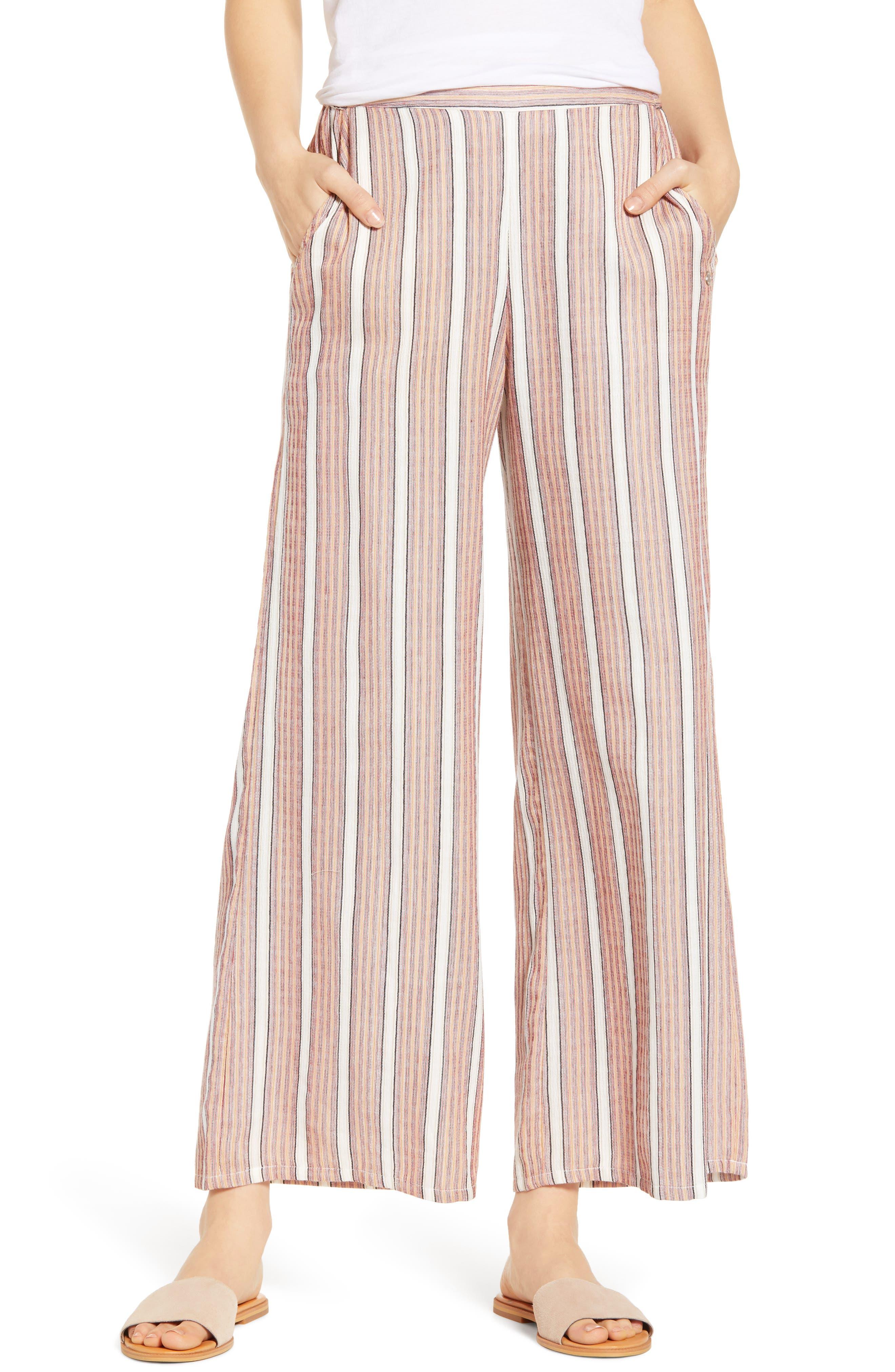 Midnight Avenue Stripe Pants, Main, color, 950
