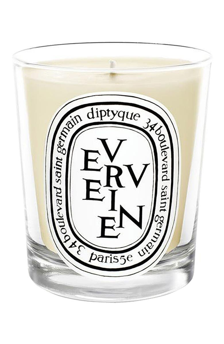 DIPTYQUE Verveine/Lemon Verbena Scented Candle, Main, color, 000
