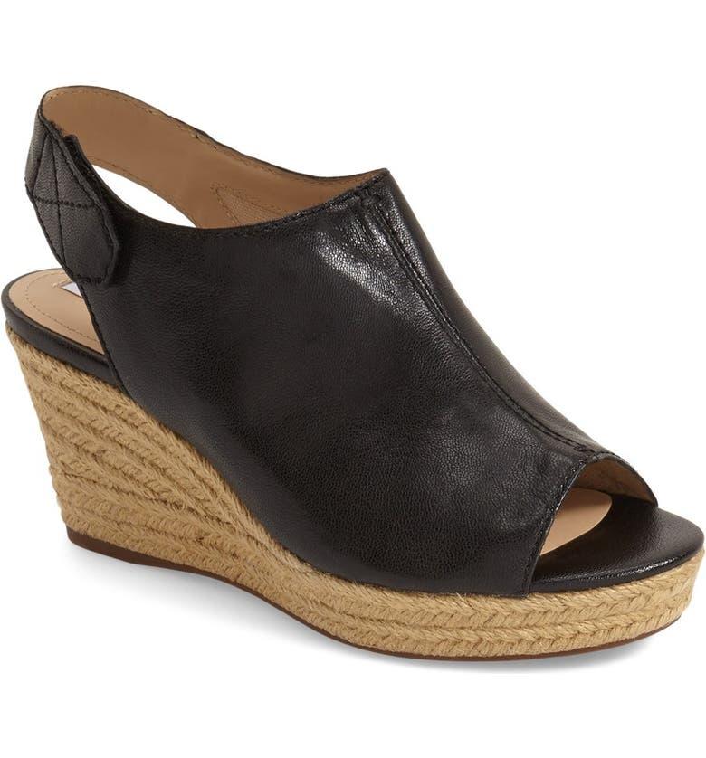 'Soleil' Slingback Wedge Sandal