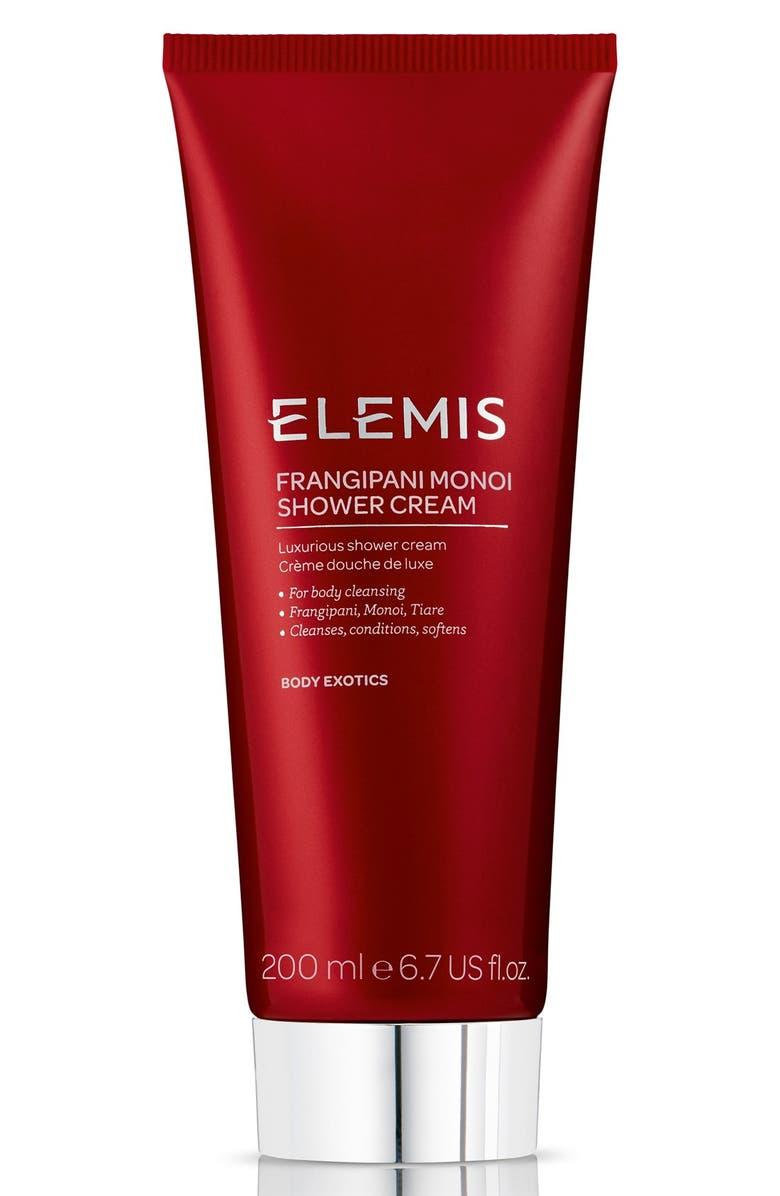 ELEMIS Frangipani Monoi Shower Cream, Main, color, NO COLOR