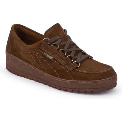 Mephisto Lady Low Top Sneaker, Brown