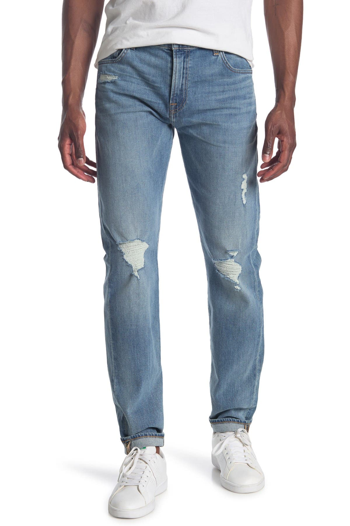 Image of 7 For All Mankind Ryley Clean Pocket Jeans