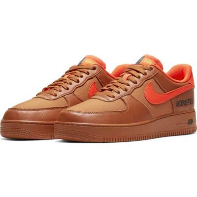 Nike Air Force 1 Gore-Tex Waterproof Sneaker, Orange