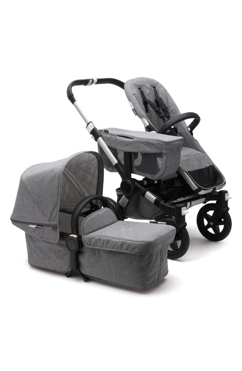 BUGABOO Donkey2 Classic Mono Complete Stroller with Bassinet, Main, color, 025