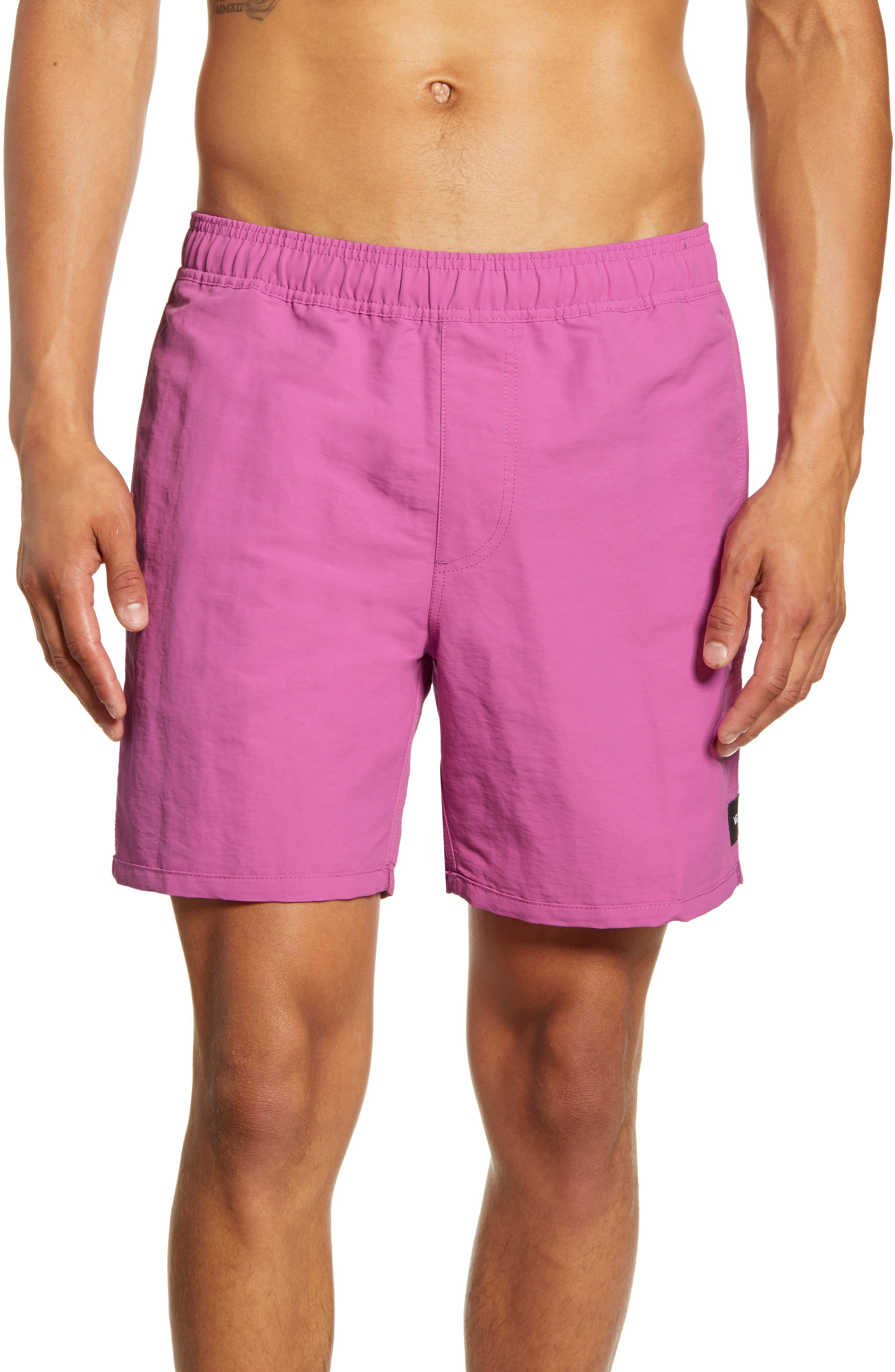 2d24b82e5c Vans Stanton Volley Swim Trunks, Pink