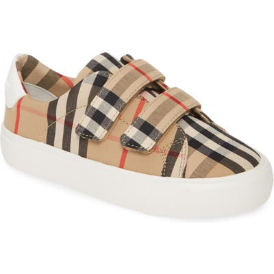 Burberry Mini Markham Check Sneaker