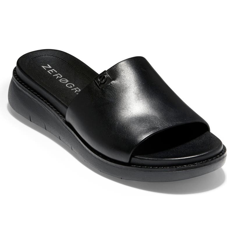 COLE HAAN ZeroGrand Slide Sandal, Main, color, 001