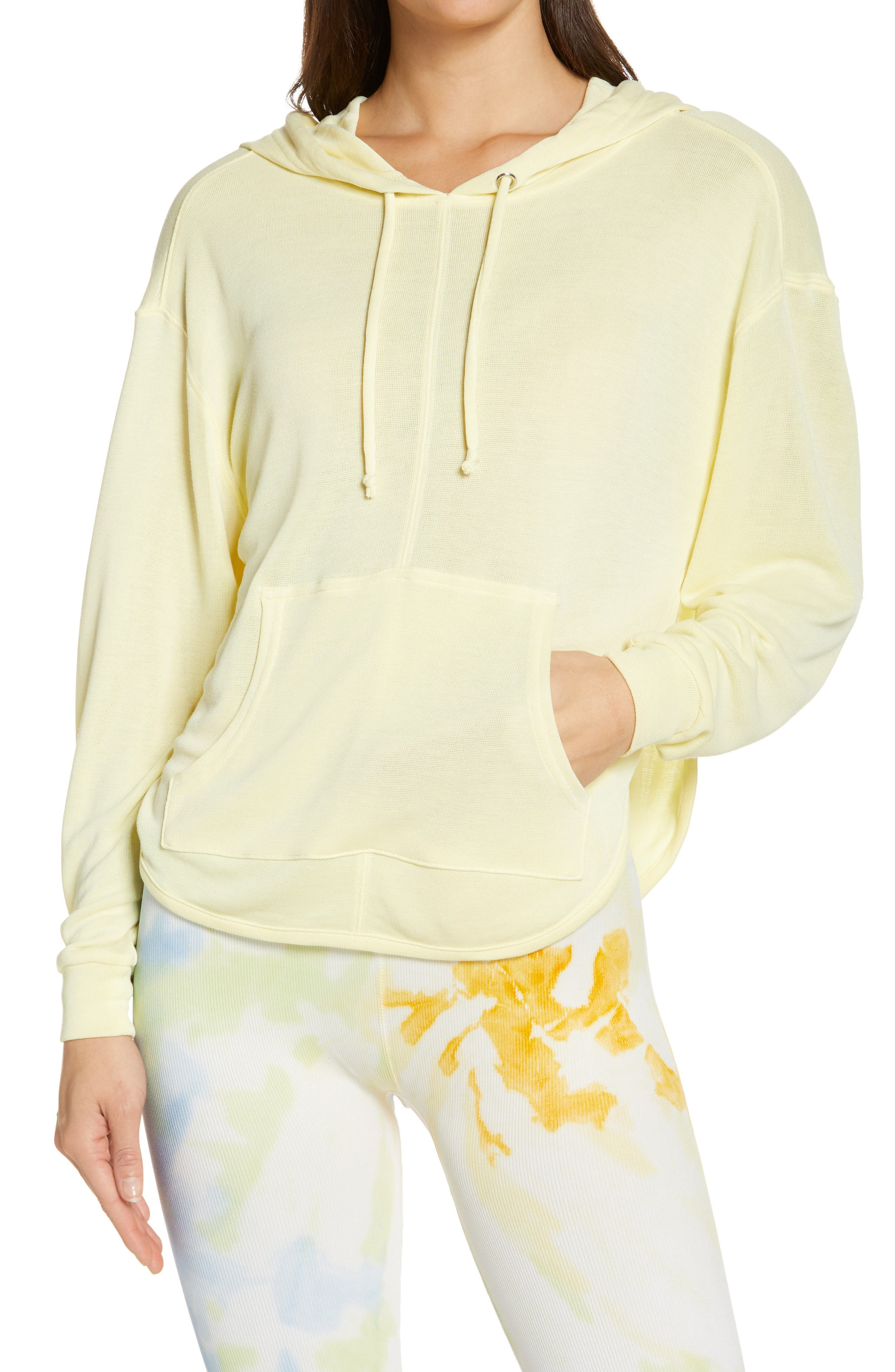 Back Into It Cutout Hoodie
