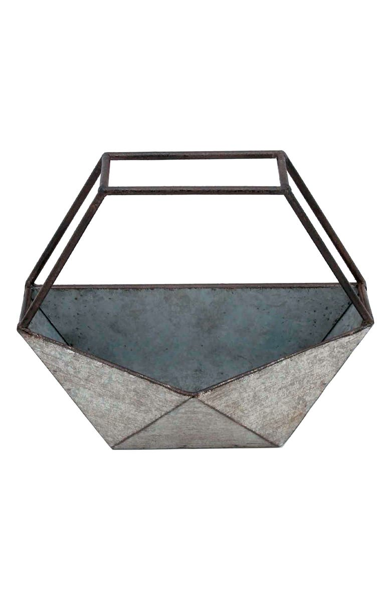 FORESIDE Geo Conservatory Planter, Main, color, METAL