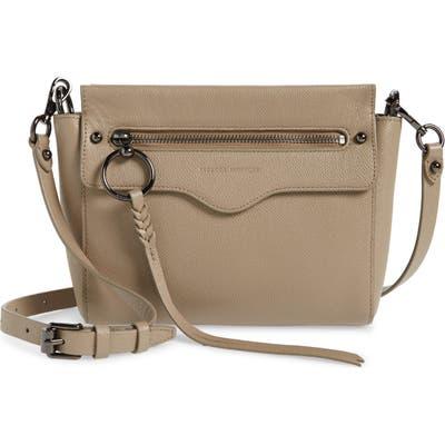 Rebecca Minkoff Gabby Leather Crossbody Bag - Beige