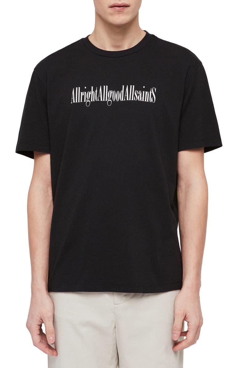 ALLSAINTS Allgood Slim Fit Graphic T-Shirt, Main, color, 003