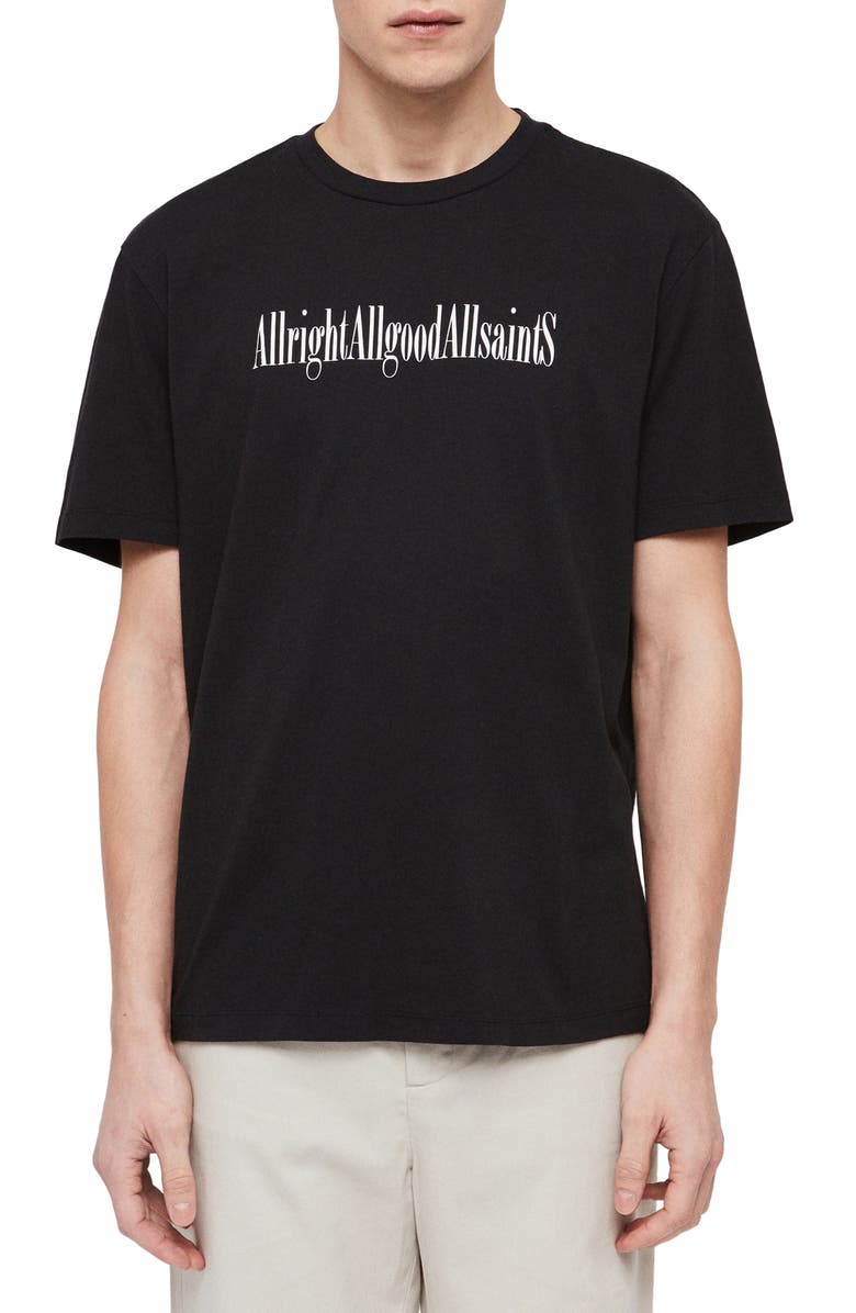 ALLSAINTS Allgood Graphic T-Shirt, Main, color, 003