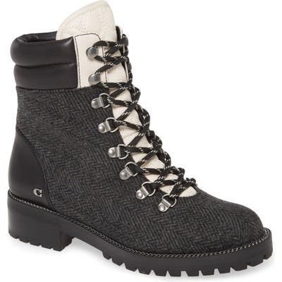 Coach Lorren Hiker Boot, Black
