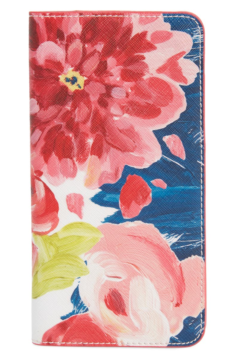 ANTHROPOLOGIE HOME Anais Travel Wallet, Main, color, PINK