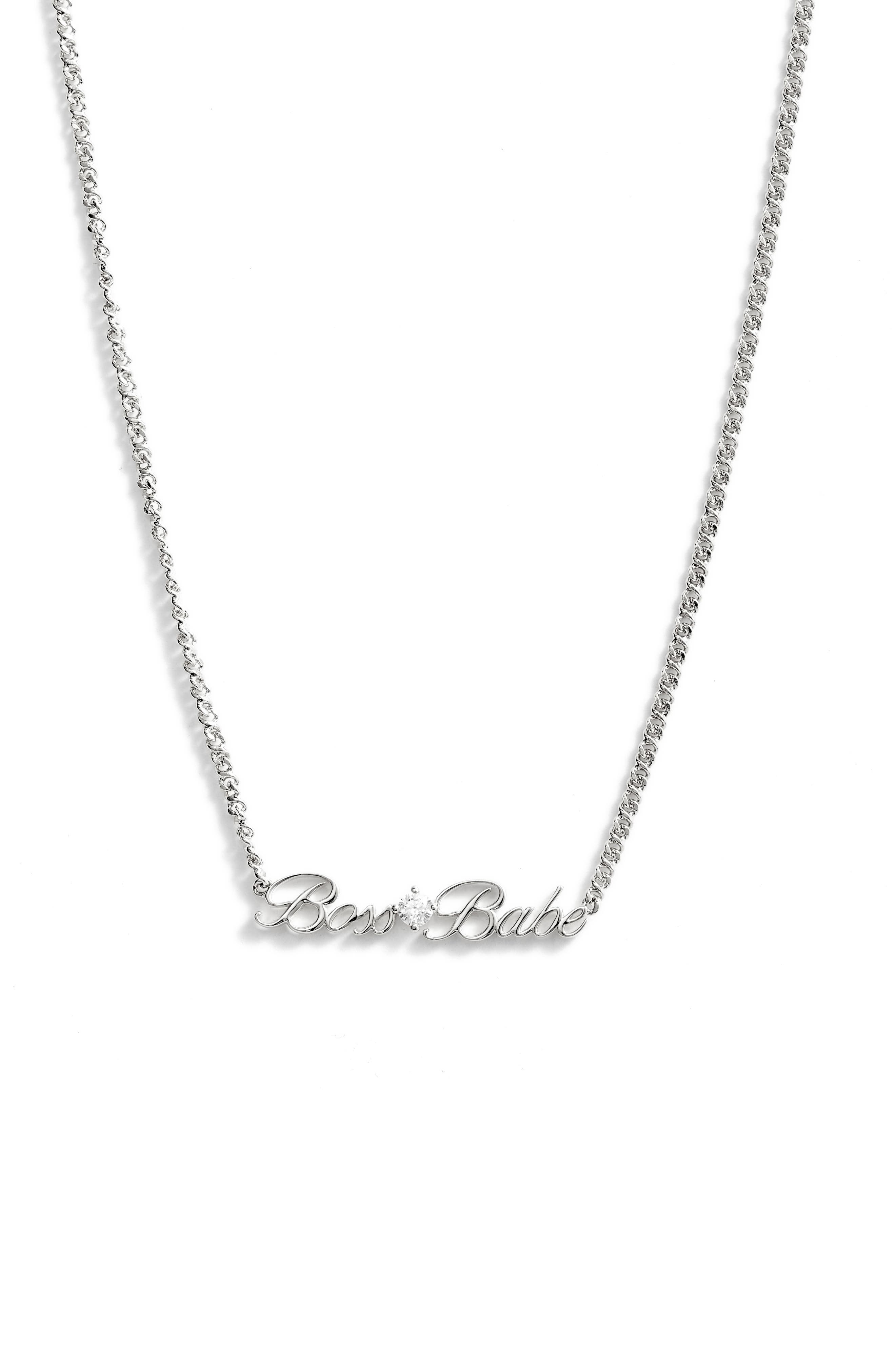 Slaybelles Boss Babe Necklace