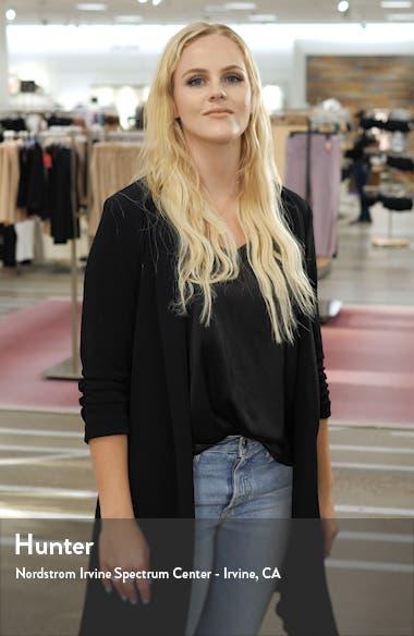 Aleice Contrast Panel Bouclé Jacket, sales video thumbnail