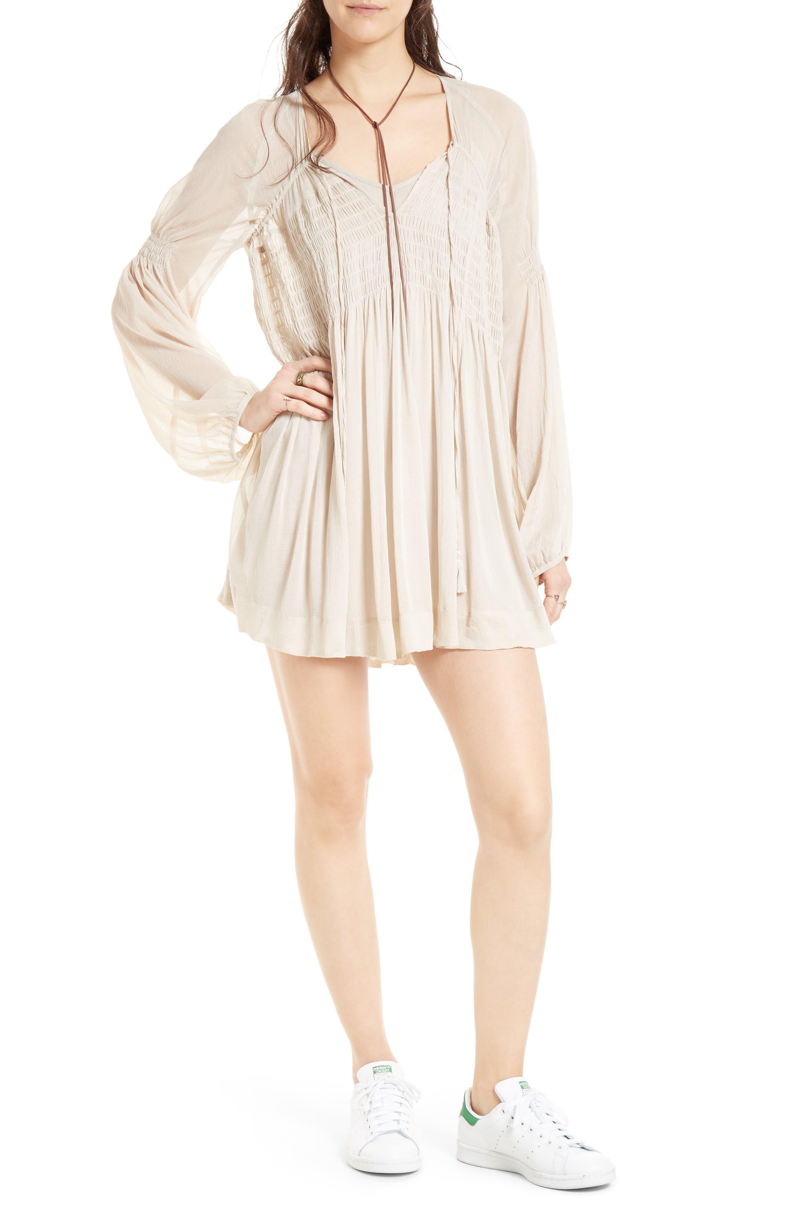 ,                             Lini Babydoll Dress,                             Main thumbnail 1, color,                             030