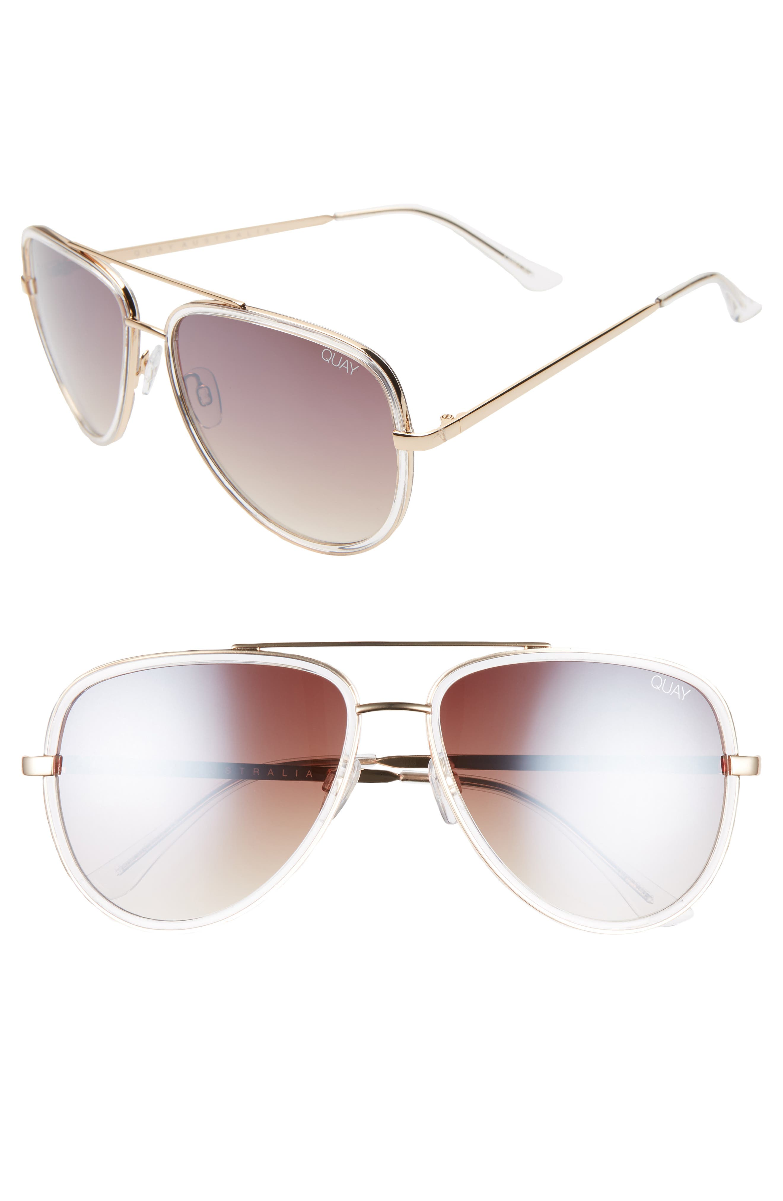 ,                             x JLO All In 56mm Aviator Sunglasses,                             Main thumbnail 5, color,                             902