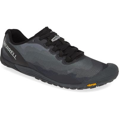 Merrell Vapor Glove 4 Trail Running Shoe, Black