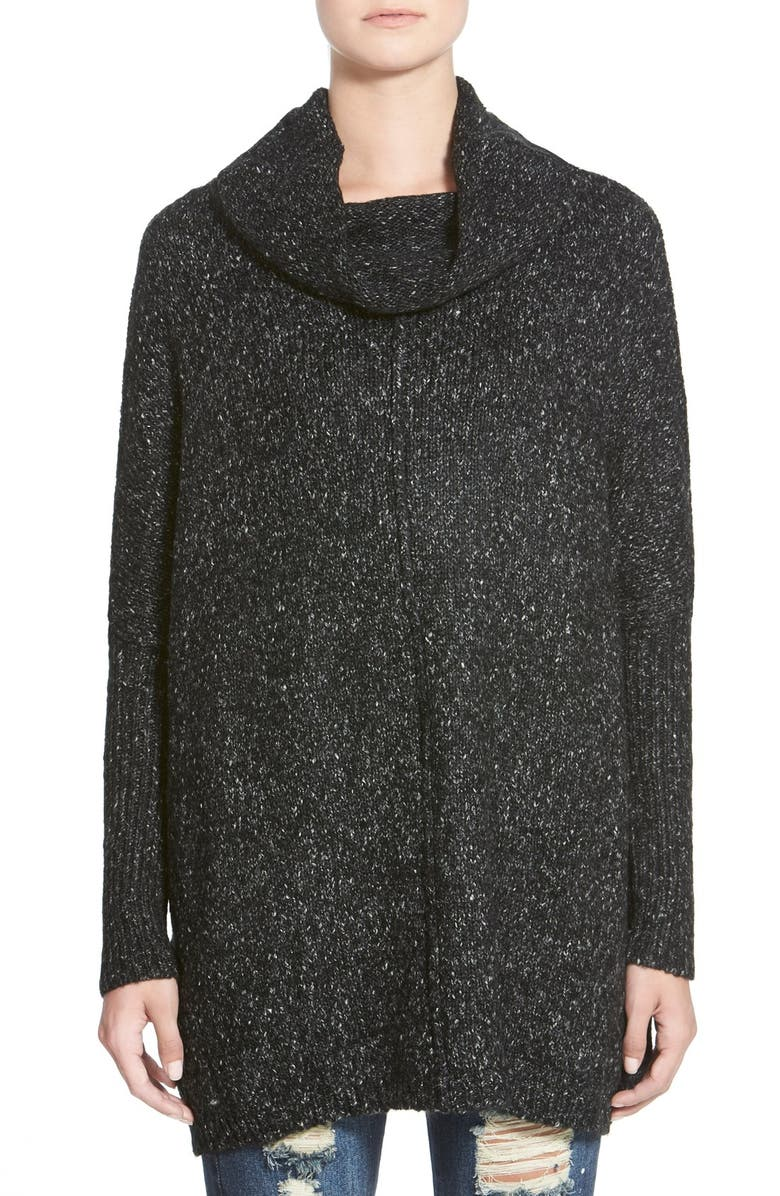 DREAMERS BY DEBUT Cowl Neck Tunic Sweater, Main, color, 020