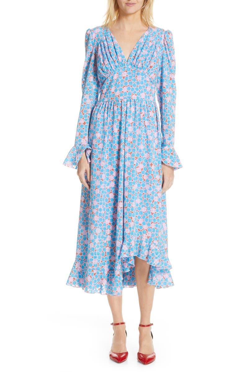 STINE GOYA Freesia Midi Dress, Main, color, 400
