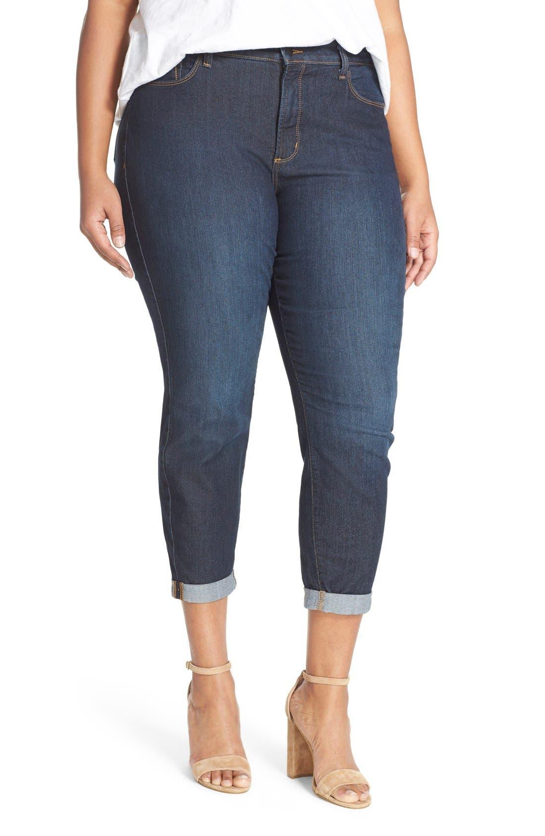 NYDJ Womens Anabelle Skinny Boyfriend Jeans