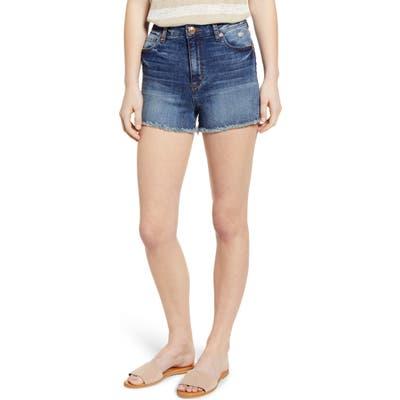 Sts Blue Aubrey Boyfriend Denim Shorts, Blue