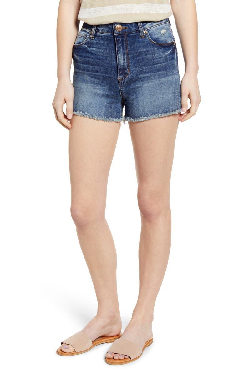 STS BLUE Aubrey Boyfriend Denim Shorts, Main, color, WEST REEDER