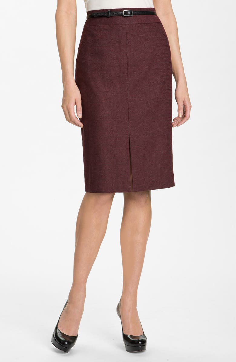 CLASSIQUES ENTIER<SUP>®</SUP> 'Moda' Belted Skirt, Main, color, 640