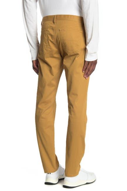 Image of WALLIN & BROS 5-Pocket Solid Pants