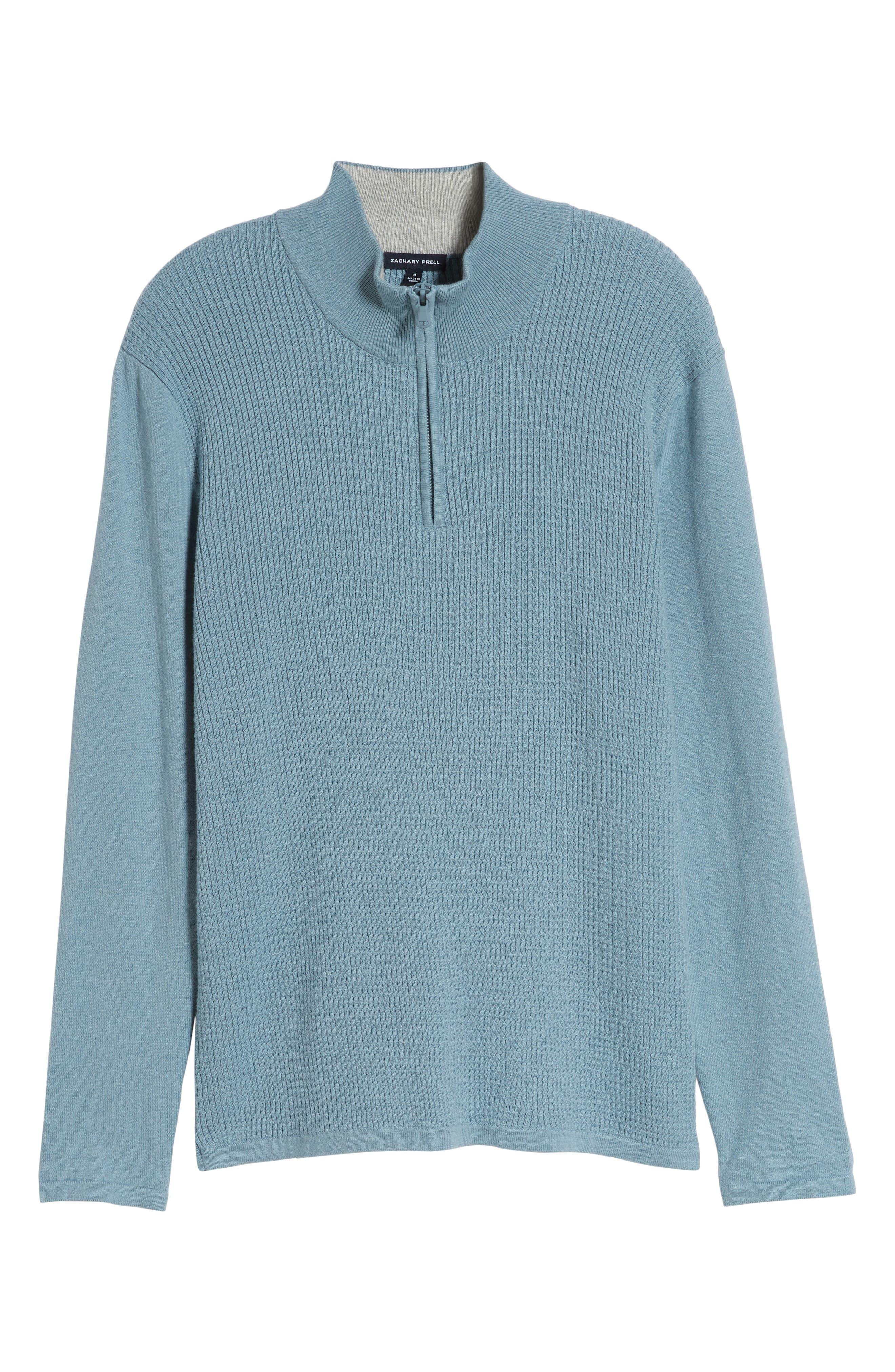 ,                             Higgins Quarter Zip Sweater,                             Alternate thumbnail 24, color,                             444