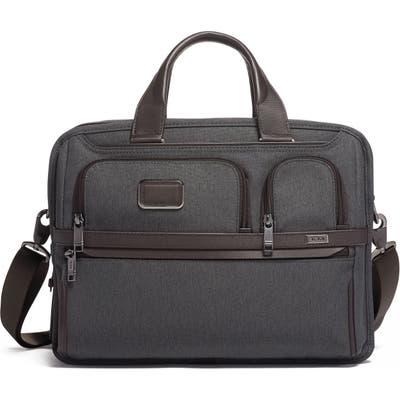 Tumi Alpha 3 Expandable Organizer Laptop Briefcase - Grey