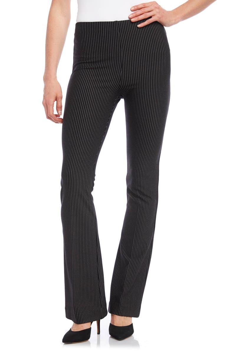 KAREN KANE Avery Stripe Bootcut Pants, Main, color, 009