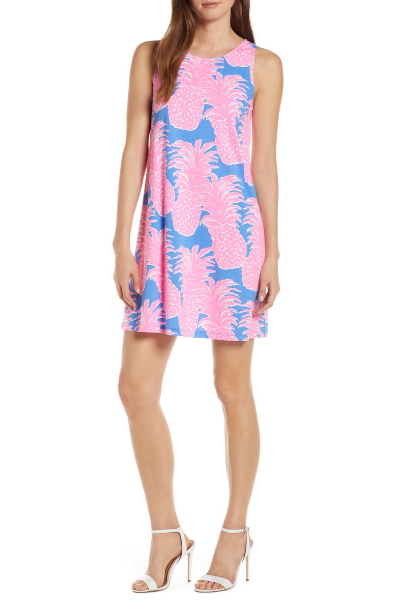 Kristen Pineapple Print Swing Dress by Lilly Pulitzer®