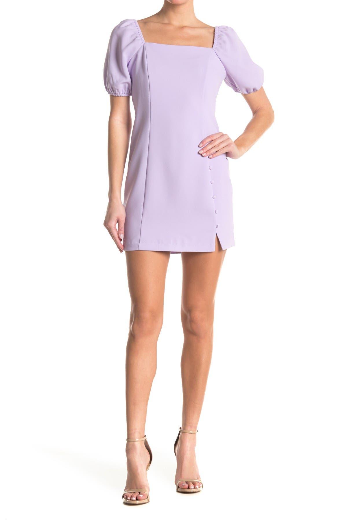 Bcbgeneration Mini dresses SQUARE NECK PUFF SLEEVE MINI DRESS