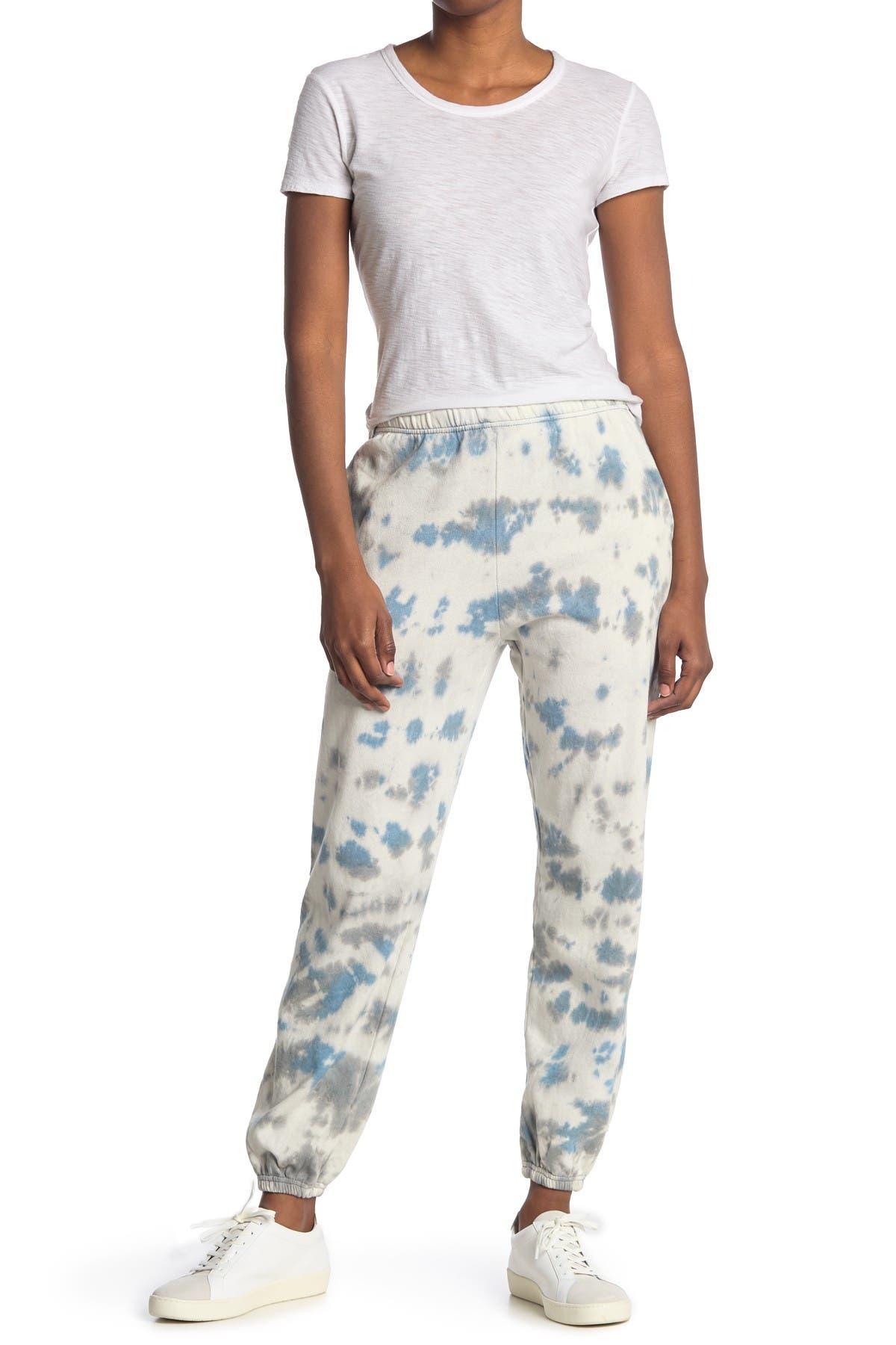 Image of Threads 4 Thought Boyfriend Tie-Dye Organic Cotton Blend Sweatpants