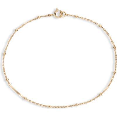 Poppy Finch Line Bracelet