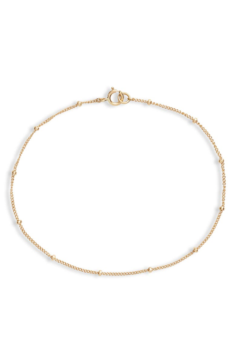 POPPY FINCH Line Bracelet, Main, color, YELLOW GOLD