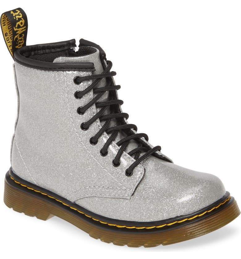 DR. MARTENS 1460 Boot, Main, color, SILVER