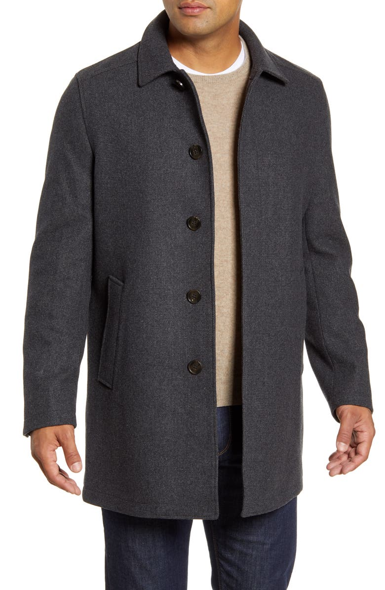 JOHN W. NORDSTROM<SUP>®</SUP> Russell Wool Blend Coat, Main, color, 021