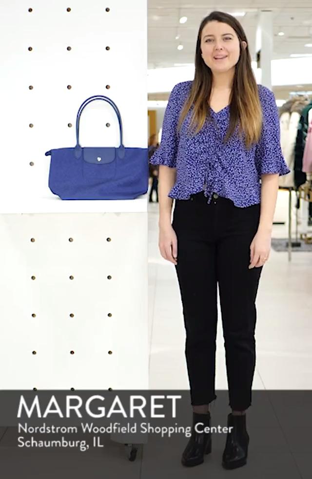 Le Pliage Jeans Small Shoulder Bag, sales video thumbnail