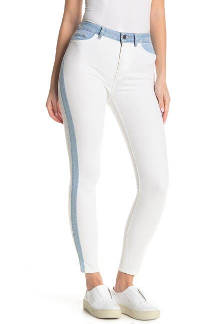 Image of DL1961 Farrow High Waist Crop Skinny Jeans