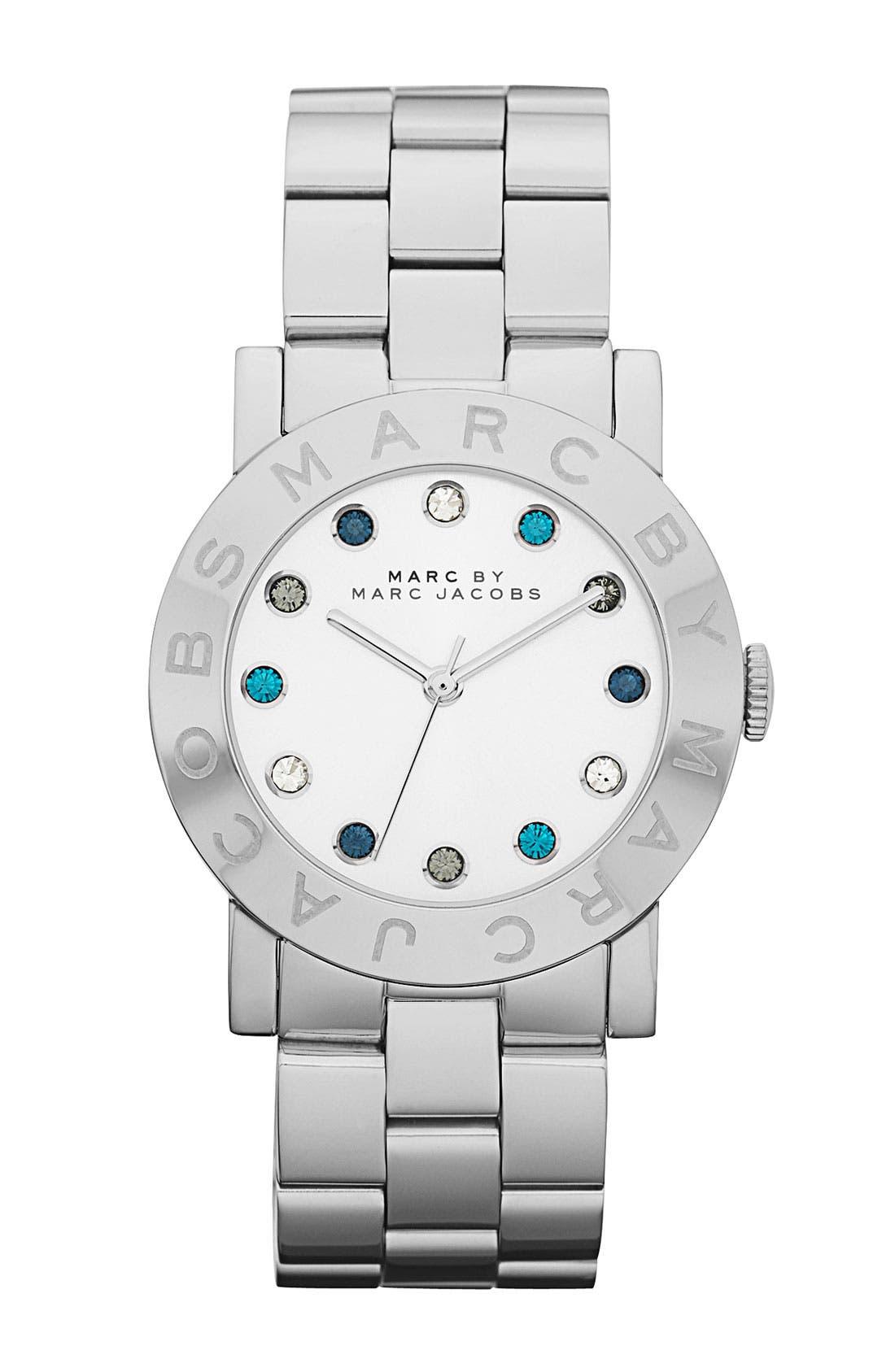 'Dexter Amy' Round Bracelet Watch, Main, color, 040