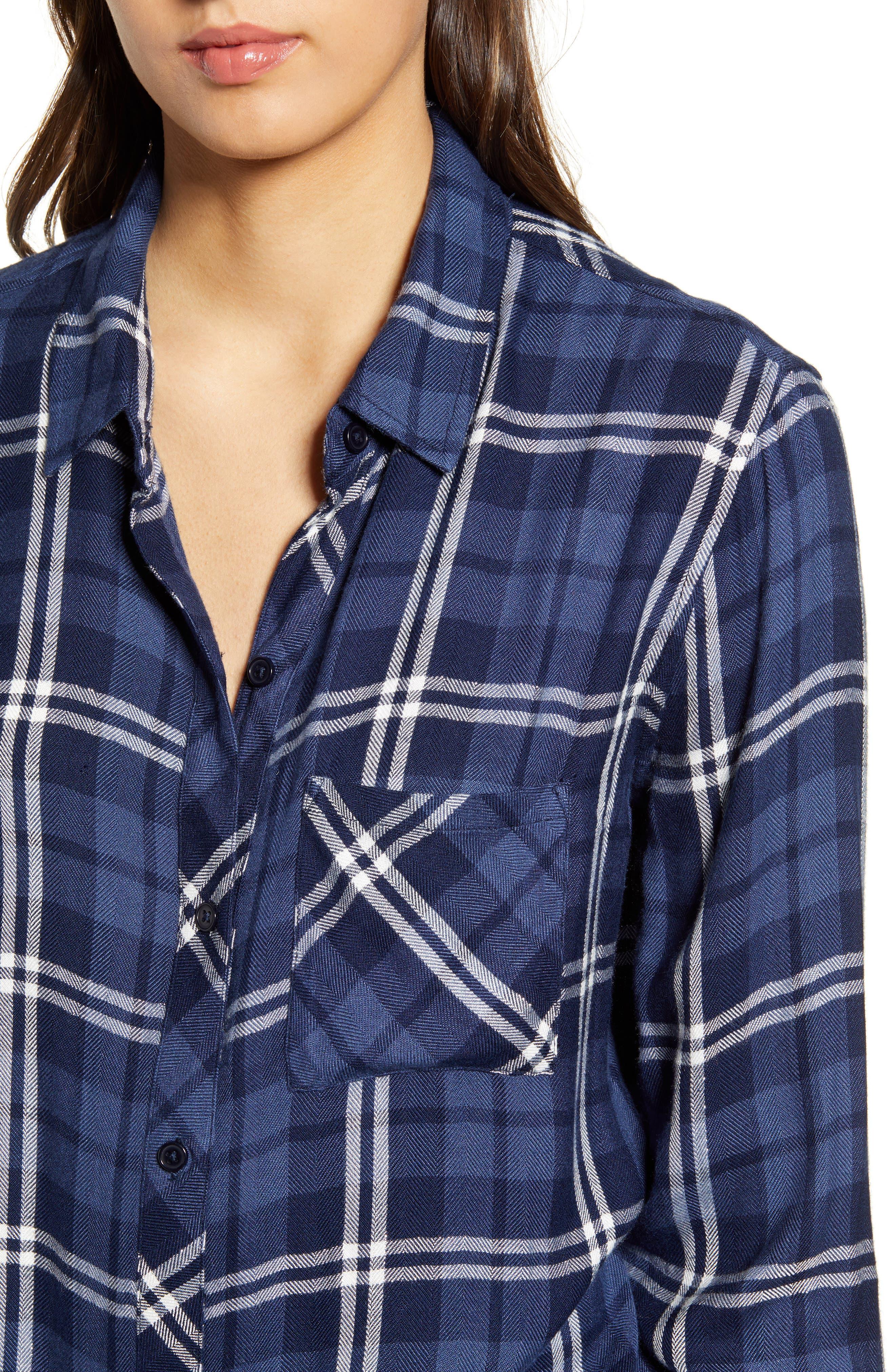 ,                             Hunter Plaid Shirt,                             Alternate thumbnail 105, color,                             422
